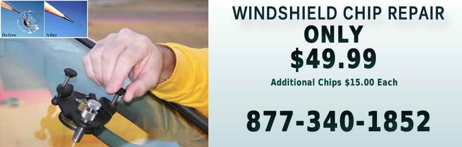 Windshield Chip Repair and Replacement