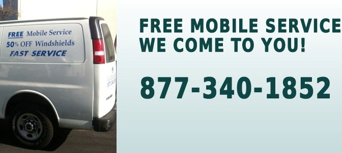 Free Mobile Auto Glass Repair and Replacement