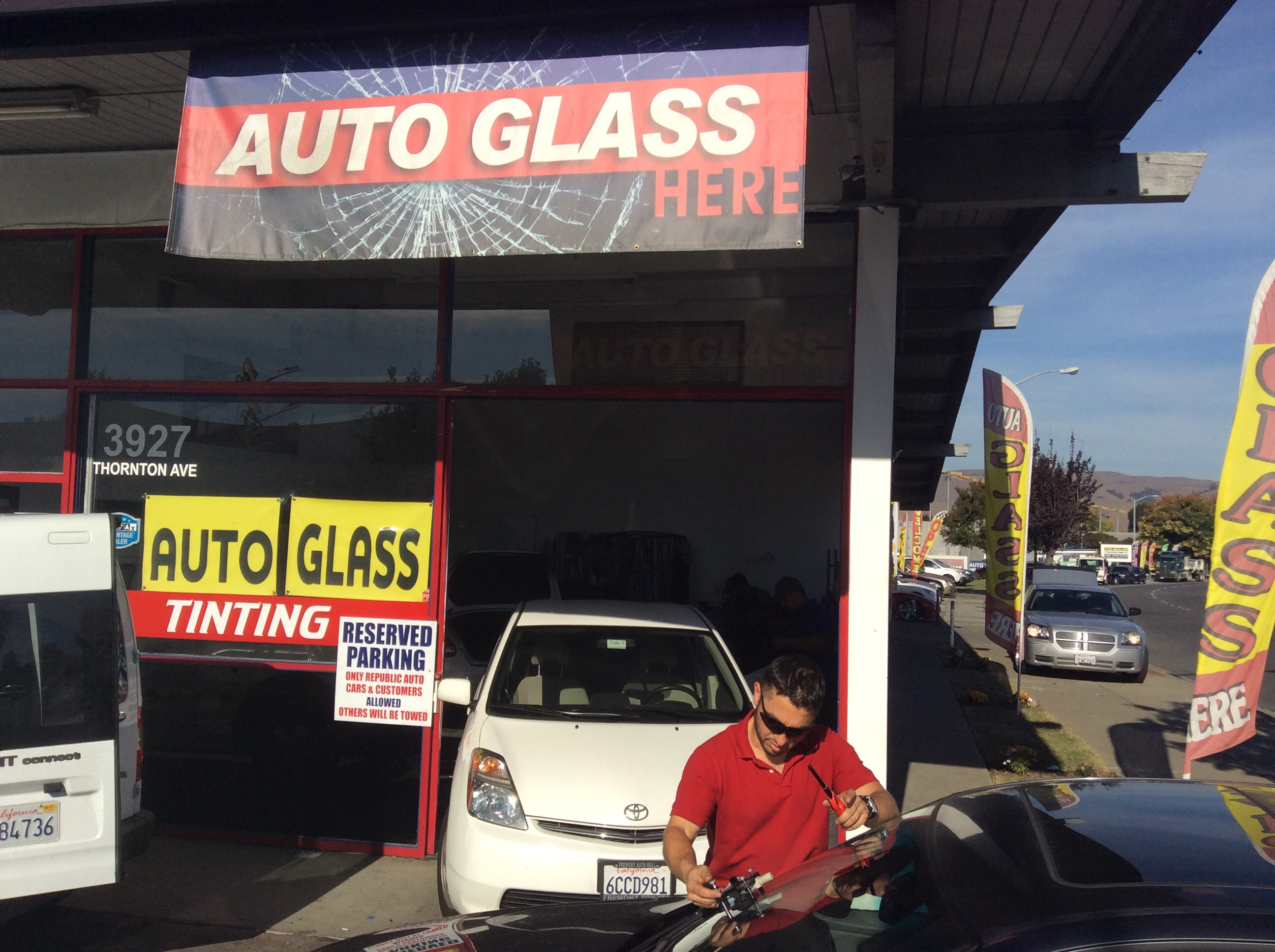Change Auto Glass Services Fremont CA